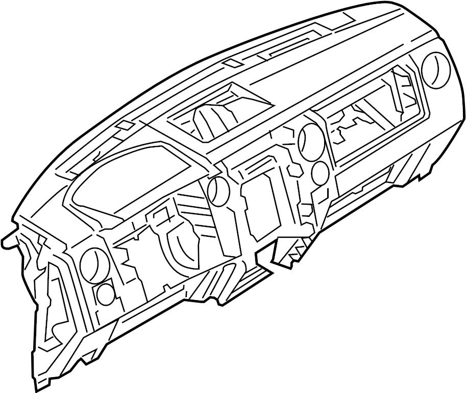 Ford F-150 Dashboard Panel. Instrument, Make