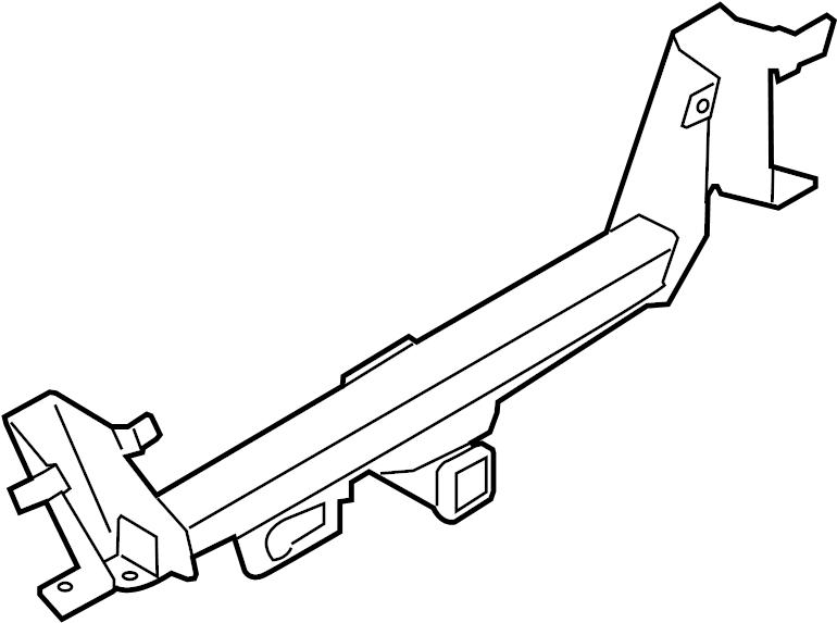 Ford F-150 Bumper Face Bar Reinforcement Beam. STYLESIDE