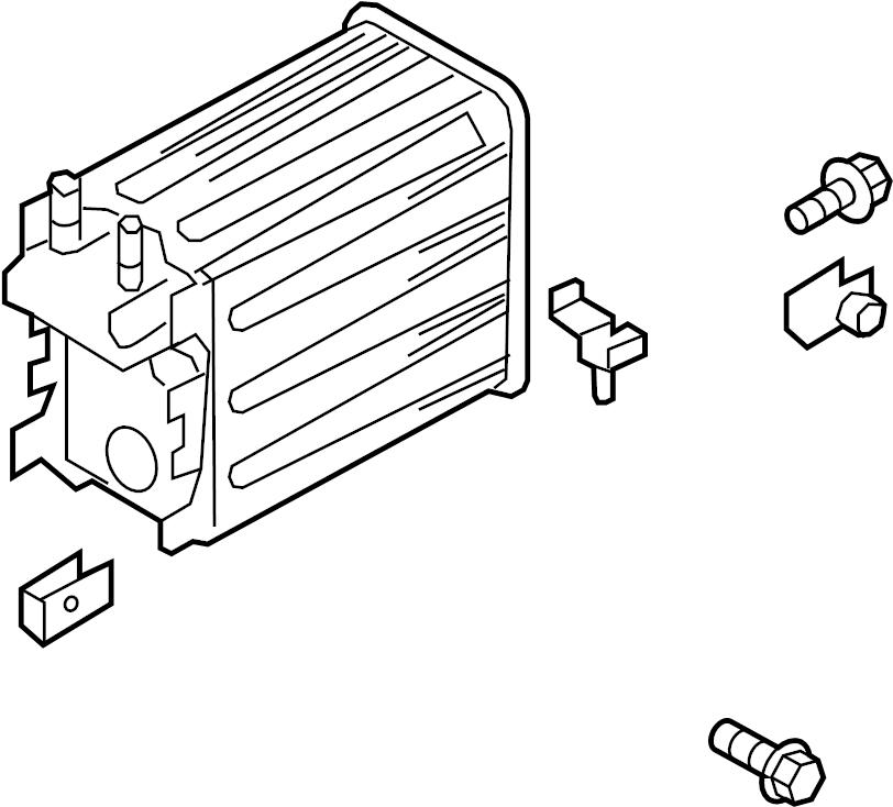 Ford F-150 Vapor Canister. LITER, EMISSION, Evaporative
