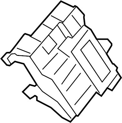 Ford F-250 Super Duty Keyless Entry Module. Junction, Box
