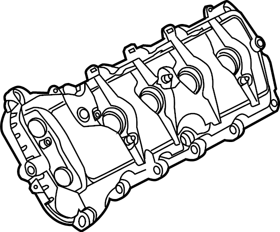 Ford F-150 Engine Valve Cover. 5.0 LITER. F150; Left