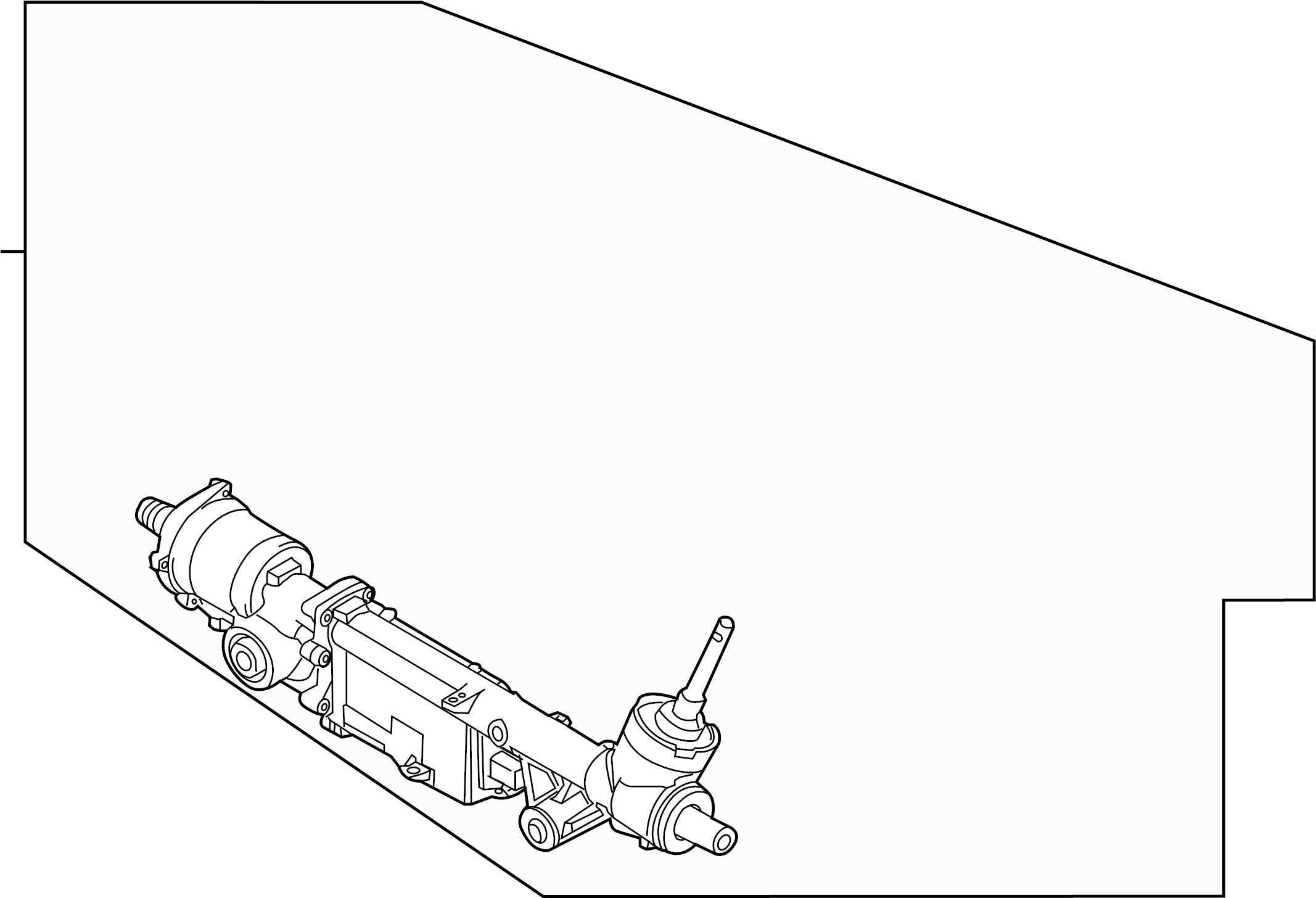 Ford F-150 Rack and Pinion Assembly. Steering, Wheelbase