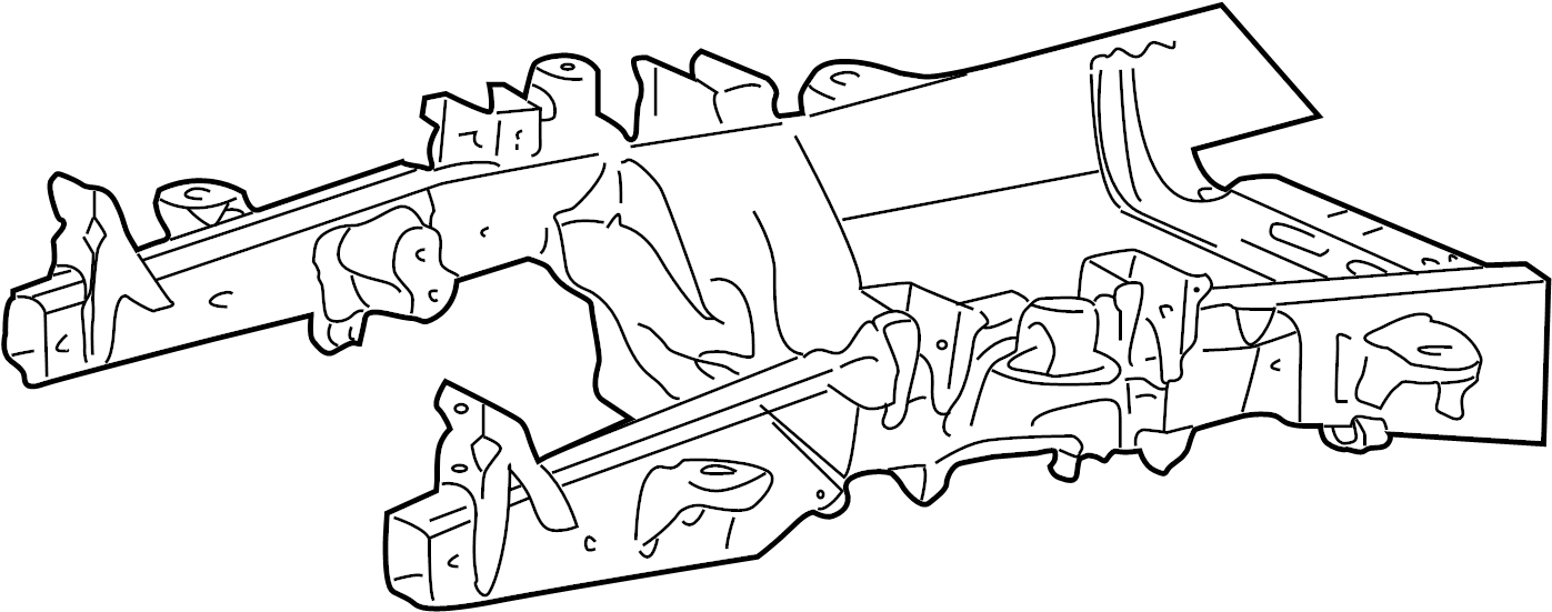 Ford F-150 Transmission Crossmember. 4.2 LITER, 4WD. 4.6