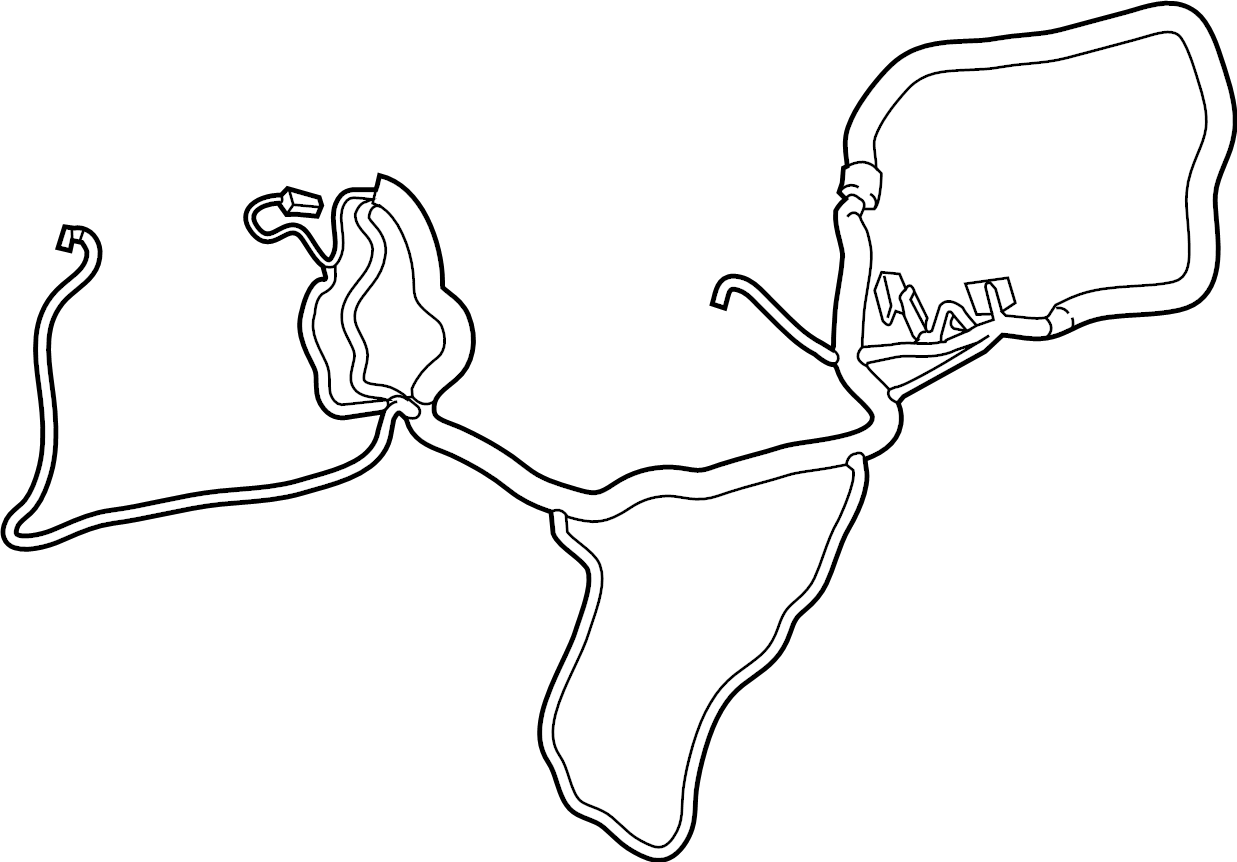Ford Transit Connect Instrument Panel Wiring Harness