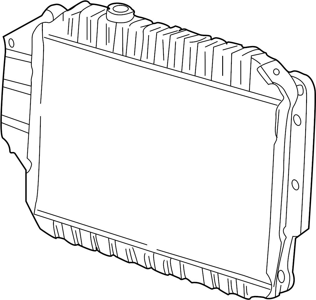 Ford E-150 Econoline Radiator. Cooling, LITER, Make