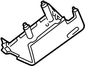 Ford E-350 Econoline Club Wagon Steering Column Cover