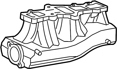 Ford Expedition Engine Intake Manifold. Lower, LITER
