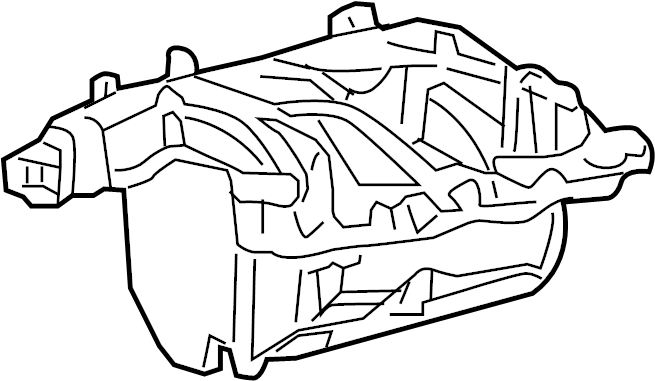 Ford F-150 Engine Intake Manifold. Duty, Super, LITER