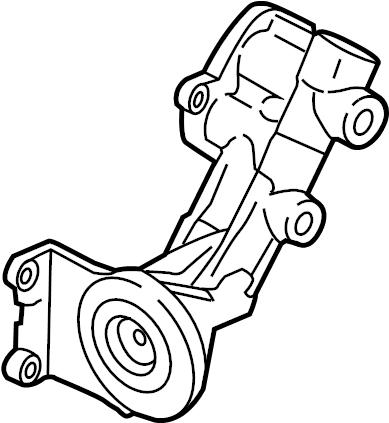 Lincoln Navigator Engine Oil Filter Adapter. LITER