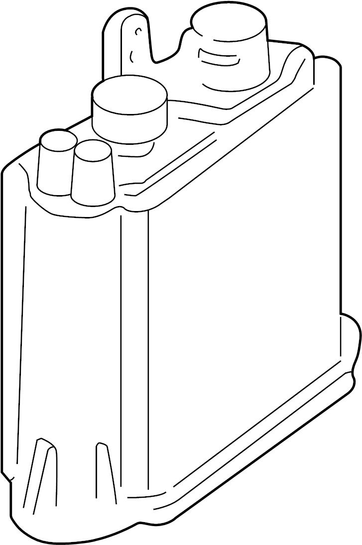 Ford E-150 Econoline Vapor Canister. Evaporative, EMISSION