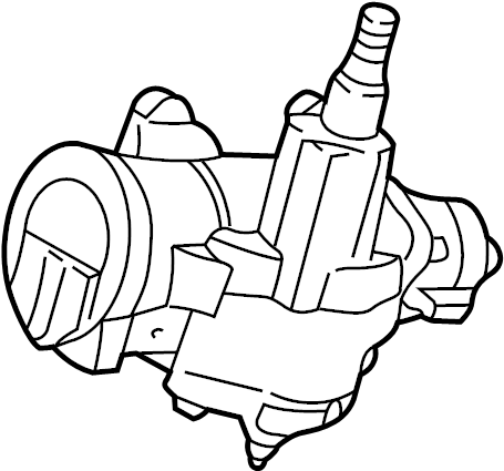 Ford F-150 Steering Gear Box. Repair, Make, Side