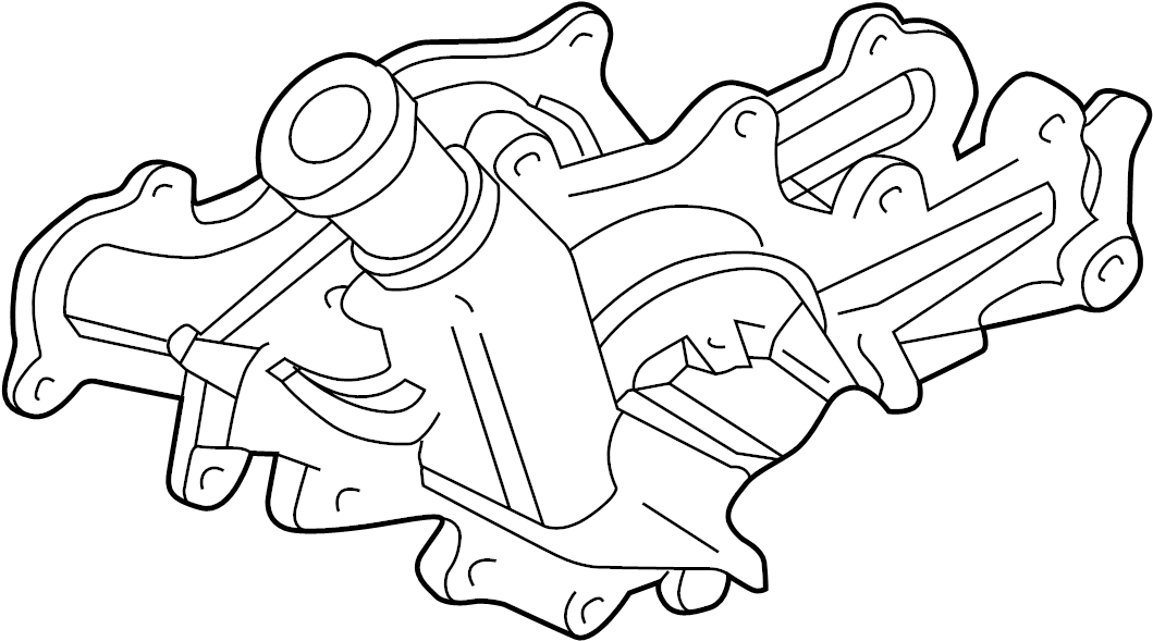 Ford Explorer Engine Water Pump Gasket. Liter, Sport