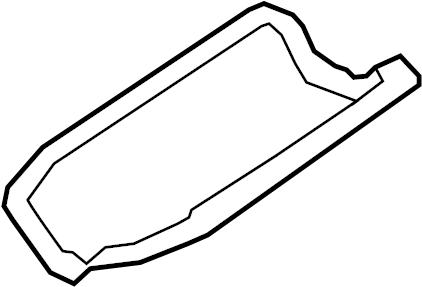 Ford Taurus Engine Oil Pan Gasket. 3.0 LITER. 3.0 LITER
