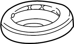 Mercury Colony Park Coil Spring Insulator. Suspension