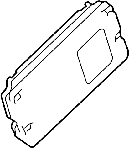 Mercury Sable Mobile Phone Control Module. SYNC, SYSTEM
