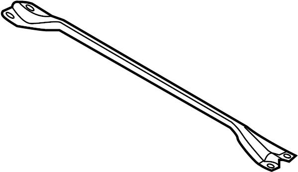 Mercury Sable Suspension Strut Brace. 2009-12. 2013-16. W