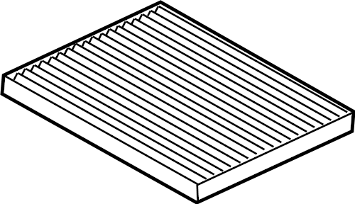 Ford Escape Cabin Air Filter. HEATER, ZONE, DUAL