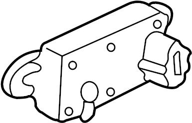 Lincoln Mark VIII Egr pressure sensor. Liter, emission