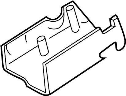 Ford Explorer Steering Column Cover. Explorer; w/o Tilt
