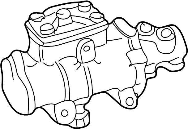 Ford F-250 Super Duty Steering Gear Box. Repair, Make