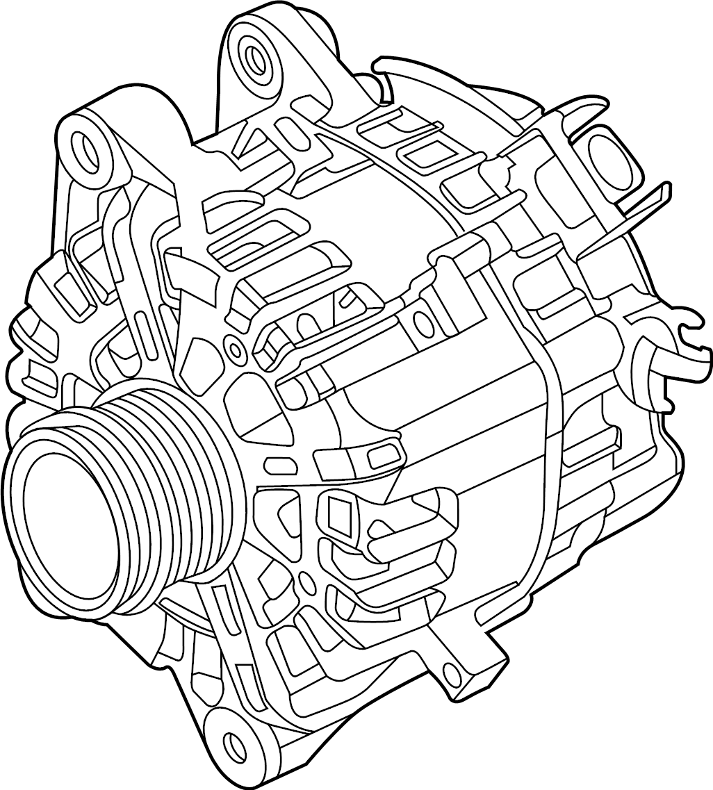 Ford Transit-350 Alternator assembly. Included with