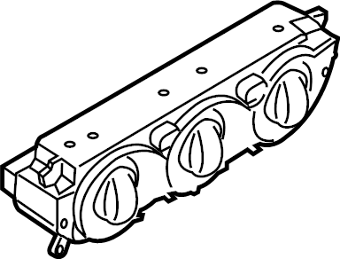 Ford Transit-250 Hvac temperature control panel. Seats