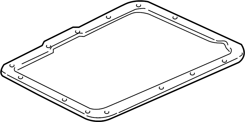 Mercury Mountaineer Automatic Transmission Oil Pan Gasket