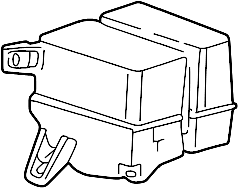 Ford Explorer Reservoir. Washer. W/fluid sensor. W/level