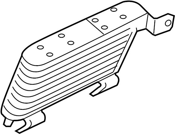 Ford Explorer Automatic Transmission Oil Cooler. LITER