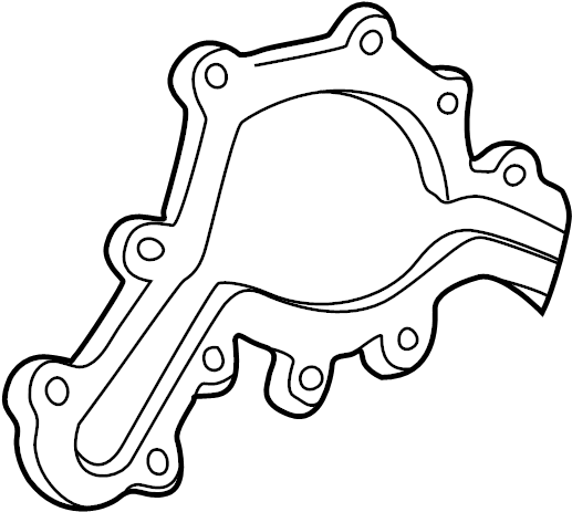 Ford Explorer Engine Water Pump Gasket. Liter, Sport