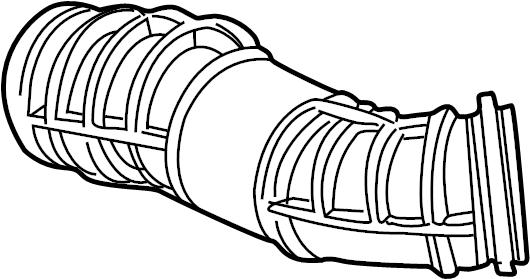Ford Explorer Sport Trac Engine Air Intake Hose. 4.0 liter