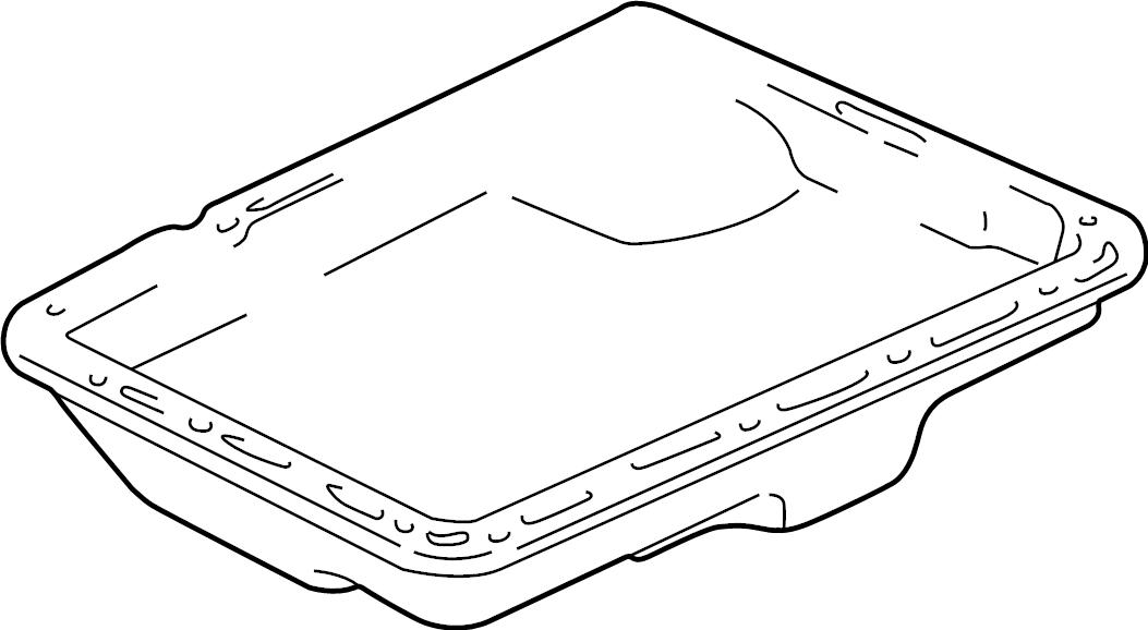 Ford Explorer Automatic Transmission Oil Pan. 4.0 LITER