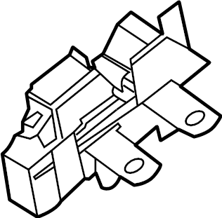 Lincoln Corsair Circuit breaker assembly. Main fuse