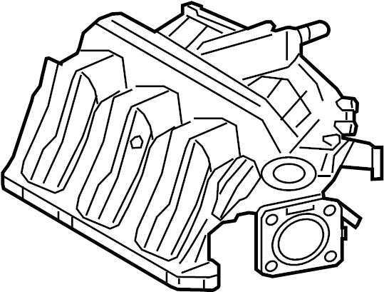 Mercury Mariner Engine Intake Manifold. 3.0 LITER, 2008