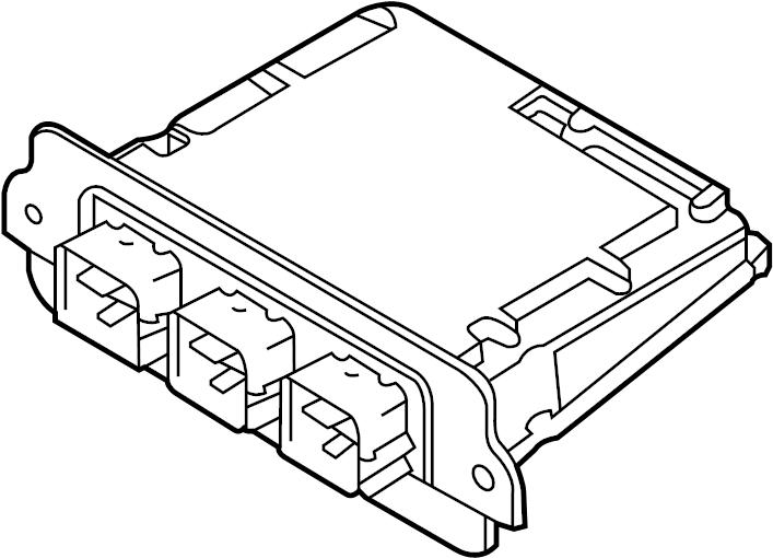 Mercury Milan Engine Control Module. Code, Hybrid