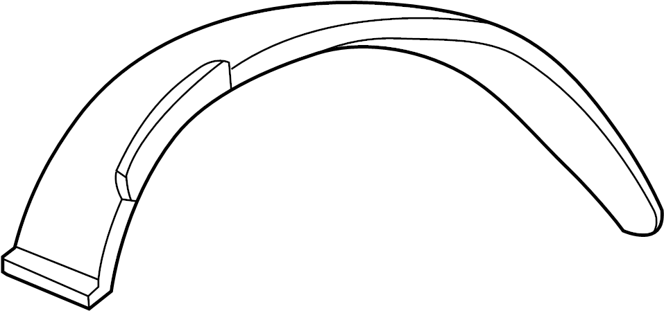 Ford F-250 Panel. Extension. (Front, Lower). Lower. Body