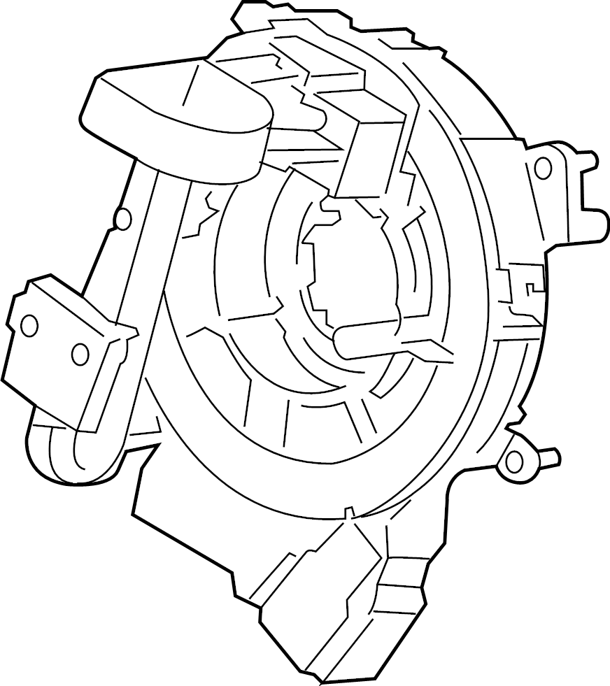Ford F-250 Super Duty Air Bag Clockspring. Steering, Wheel
