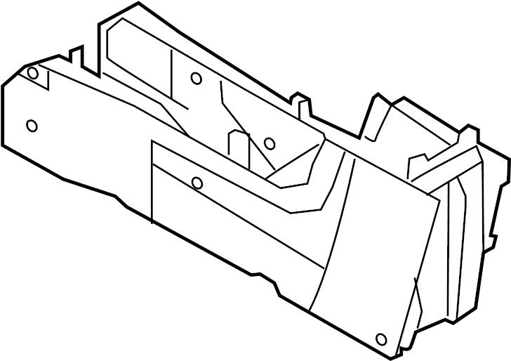 Ford Escape Center Console. Stone, Ambient, Light