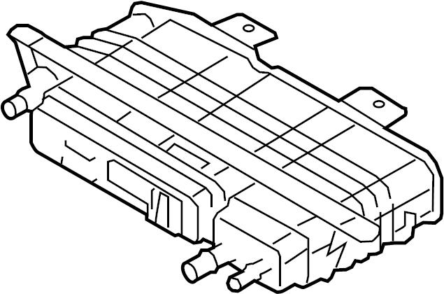 Mercury Milan Vapor Canister. Evaporative, EMISSION