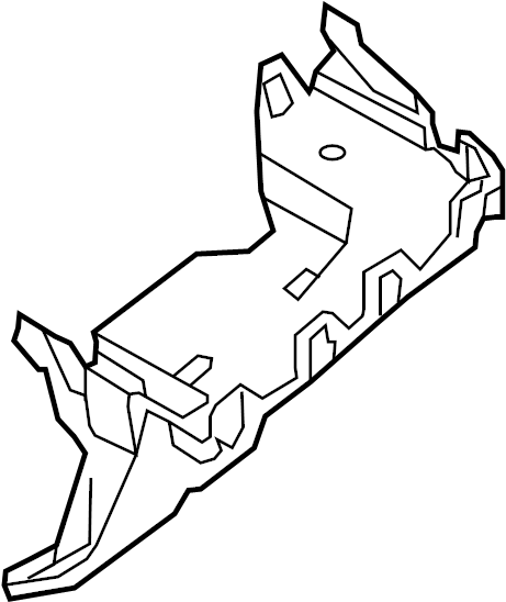 Ford Edge Fuse Box Bracket. ENGINE COMPARTMENT, from 12/15