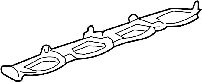 Ford Expedition Engine Intake Manifold Gasket. Left, LITER