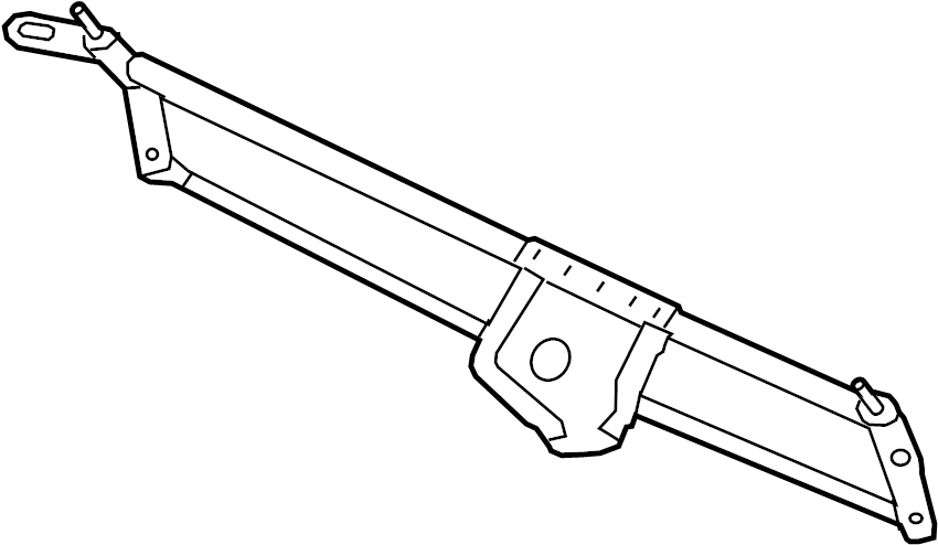 Lincoln Navigator Windshield Wiper Linkage. Replace