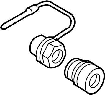 Mercury Sable Wheel Lock Set. Non-exposed lug nuts. W