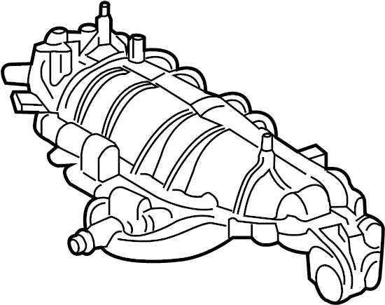 Ford Fiesta Engine Intake Manifold. LITER, WTurbo