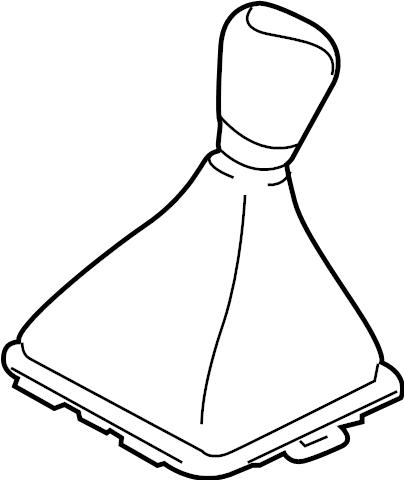 Ford Fiesta Manual Transmission Shift Linkage Boot. MANUAL