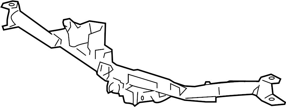Ford F-150 Bumper Face Bar Reinforcement Beam. 2006, w/HD