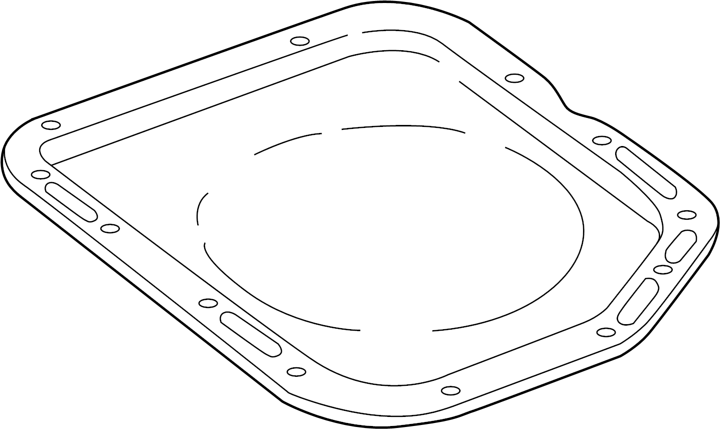 Ford Explorer Automatic Transmission Oil Pan. 3.3 LITER