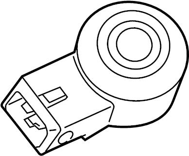 Ford F-150 Ignition Knock (Detonation) Sensor. Engine