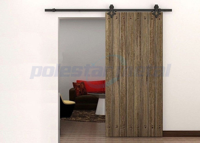 2000mm Curved Stainless Steel Barn Door Hardware For
