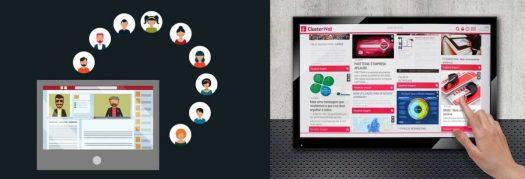 Rede Social ClusterWall